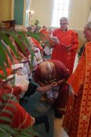Rite of the Washing of the Feet celebrated by Metropolitan Lawrence