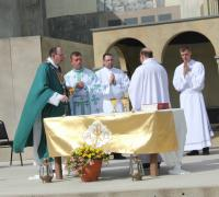Holy Mass celebrated by Archbishop Albert LeGatt.