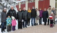 Parishioners of the Rossburn Pastoral District preserve the ancient Christmas tradition of the Ukrainian Catholic Church to bring a good news of Christ Birth to the world with carols.
